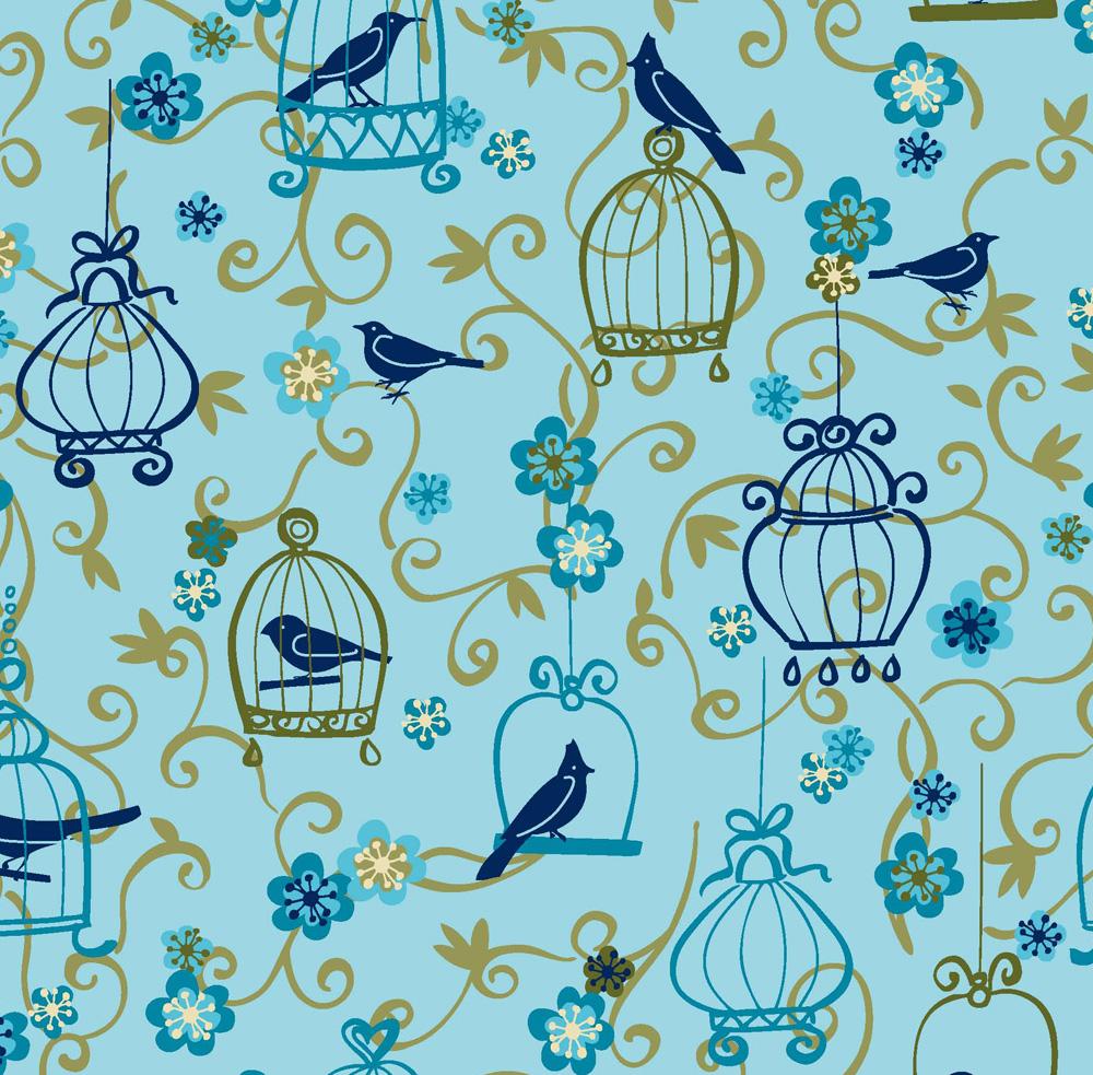 vogels en kooien